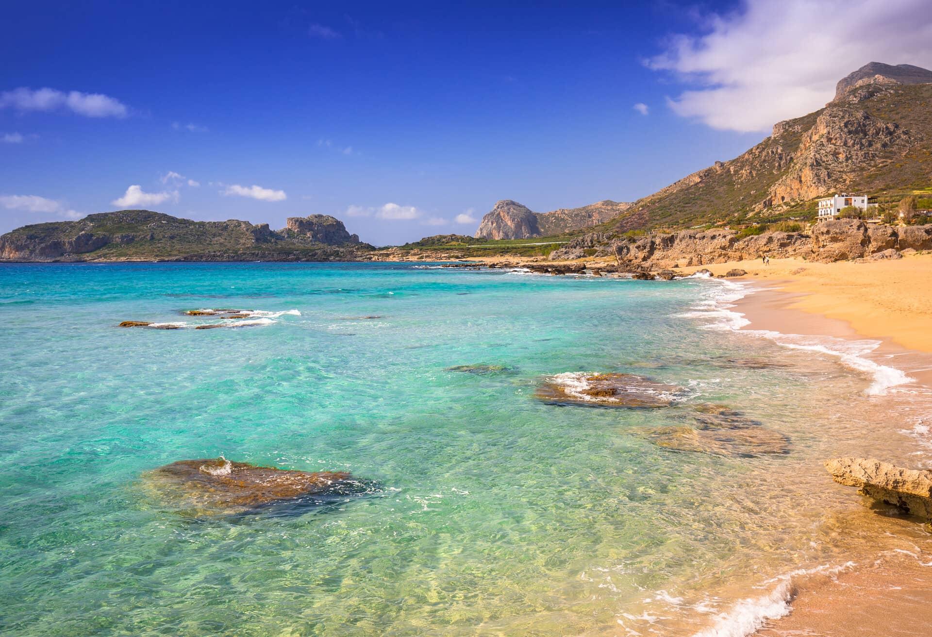 Creta es la mejor isla para unas vacaciones en la playa.
