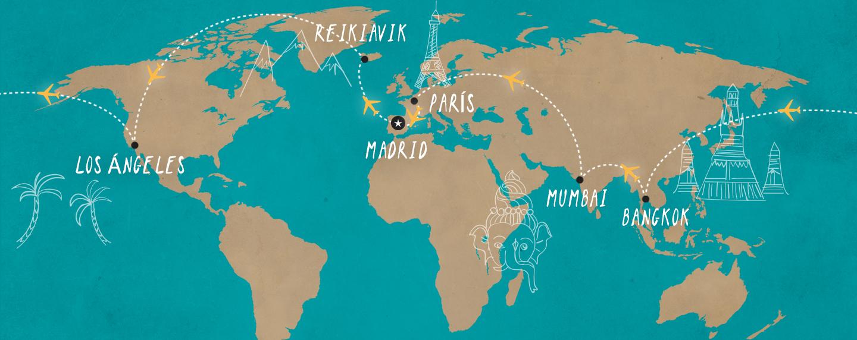 Cómo dar la vuelta al mundo por menos de 900 €