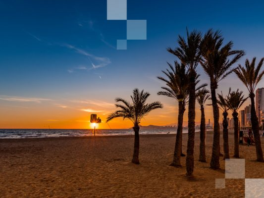 Una de las playas de España más visitadas