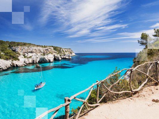 Los paisajes de Menorca...