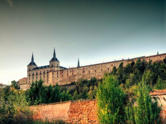 Aquí se puede ver el Palácio Ducal de Lerma.