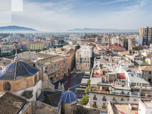 Vista panorámica de Murcia.