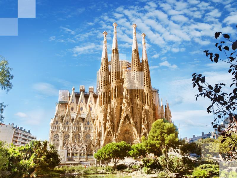 La arquitectura de Gaudí.