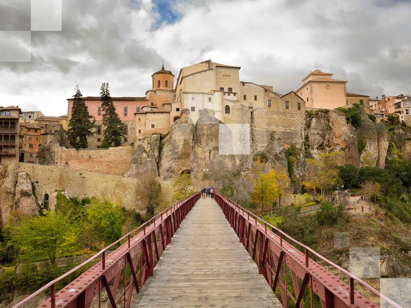 El puente para Cuenca.