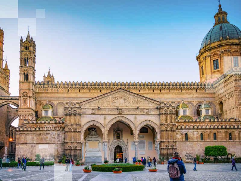 Pasa algo de tiempo en la Catedral de Palermo cuando pases tus vacaciones 2020 en Palermo.
