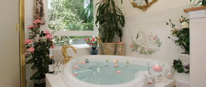 A Hidden Haven & Water Garden Cottages - Port Angeles - Baño